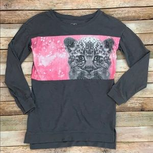 Justice Sequined Kitty Top
